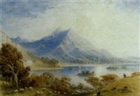 mountainous lakeland landscape by thomas hosmer shepherd