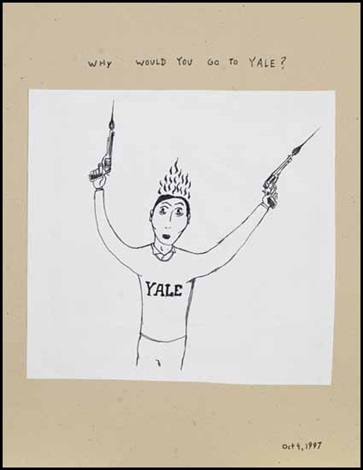 why would you go to yale by royal art lodge michael dumontier marcel dzama neil farber