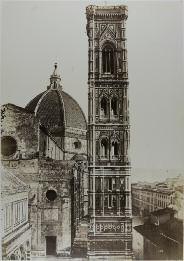 campanile del duomo by fratelli alinari