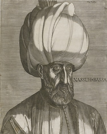 portrait of suleyman the magnificent by melchior lorck