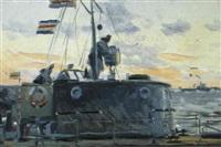 en mer blanche by alexei koltsov