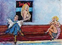 sala d'attesa by walter piacesi