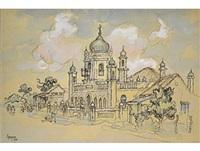 mosque by gregoire johannes boonzaier