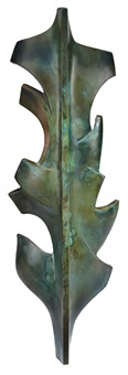 wall applique (leaf) by malcolm leland
