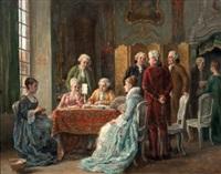 la signature du contrat by léon marie constant dansaert