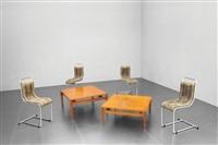 quattro rare sedie by ico parisi