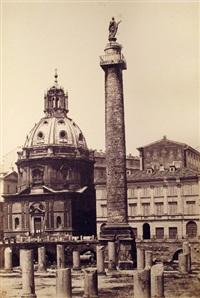 colonna traiana (+ arco di settimio severo; 2 works) by tommaso cuccioni