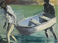 carrying boat by euan macleod