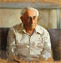 portrait of oswald adler by amnon david ar