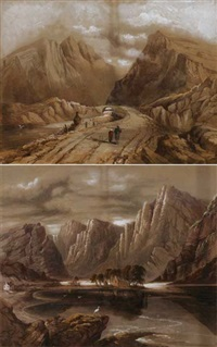 gap of dunloe (+ gougaune barra; pair) by john e. bosanquet
