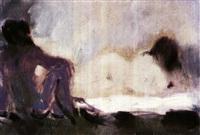 interior con desnudos by antonio valdivieso