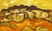 connemara landscape by desmond carrick