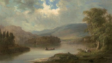 landscape in scotland by robert scott duncanson