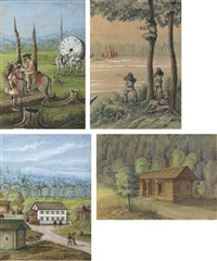 farmer searching for a new home (+ 4 others; 5 works) by franz holzlhuber