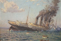 the loss of the lusitania by charles david jones bryant