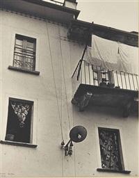 windows, brissago, switzerland by ilse bing
