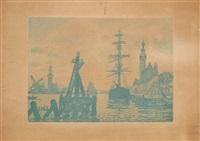le port de veere by paul signac