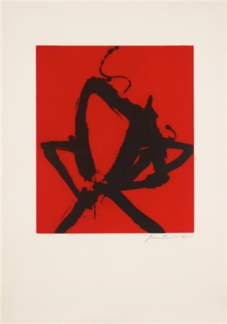 red sea i by robert motherwell