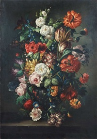 bouquet de fleurs by austrian school (19)