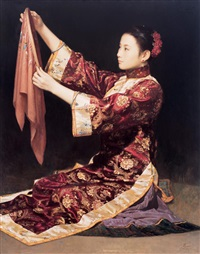悦目 (a lady) by jiang changyi