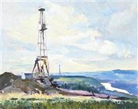 oil rig by orestes (rick) nicholas de grandmaison