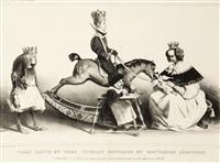 très hauts et très puissans moutards et moutardes légitimes. (pl. 19 de l'association mensuelle) by honoré daumier