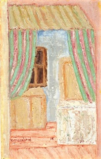 interior of a room by yehoshua grossbard