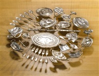 thirty pieces of silver (exhaled) by cornelia parker