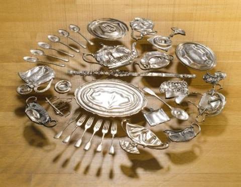 thirty pieces of silver exhaled by cornelia parker