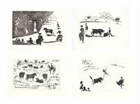 la tauromaquia, ediciones de la cometa, barcelona, 1959 by pablo picasso