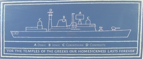 for the temples of the greeks our homesickness lasts forever by ian hamilton finlay