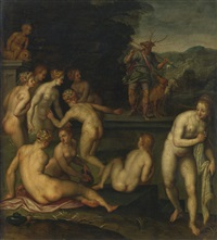 diana and actaeon by giovanni (il cosci) balducci
