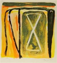composition abstraite by bram van velde