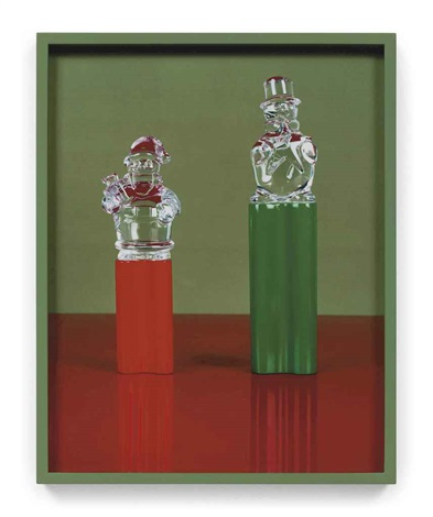 two crystals red green green by elad lassry