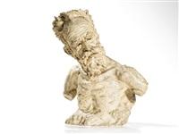bust of max jaffé by gustinus ambrosi