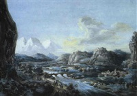 mont blanc en savoie by jonas carl linnerhielm
