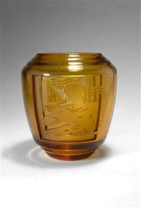 vase by les verreries de l'est