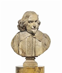 bust of a gentleman by artus quellin the elder