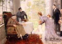 escena de interior by léon joseph florentin bonnat