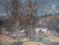 moulins near pitlochry by william wright campbell