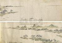 山水鱼舟 by wen dian