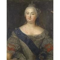 portrait of elizaveta petrovna by aleksei petrovich antropov