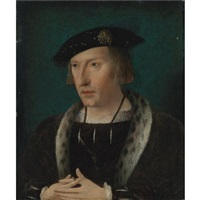portrait of a nobleman by dutch school-southern (16)