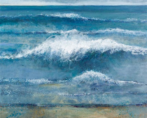 crashing surf silver strand sherkin by jo ashby