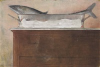 the french poacher (also known as respirando) by julio larraz