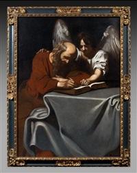 saint mathieu et l'ange (collab. w/studio) by nicolas regnier