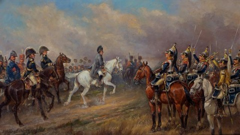 five works the napoleonic wars a set of scenes of napoleon and the