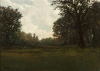 tonalist landscape by william keith
