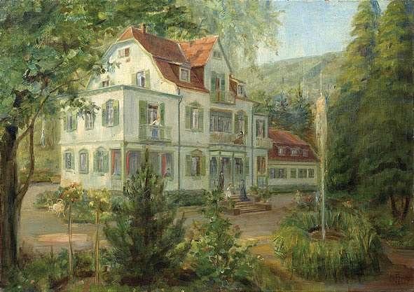 Landhaus im Grünen by Helene Funke on artnet