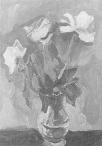 vase mit blumenstrauss by alexandre rochat